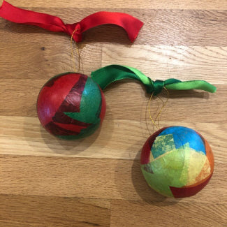 Decoupage Ornaments