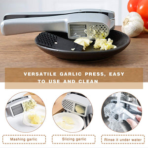 2 in 1 Garlic Press & Slice