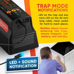 Electric Mouse Trap – Electronic Rodent Rat Shock Trap