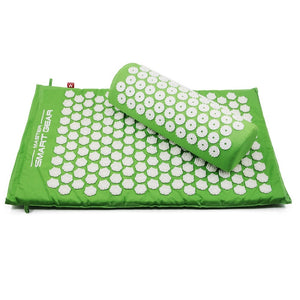 Acupressure Mat and Pillow Set Relieve Stress Tension Pain