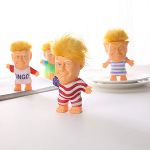 Trump Troll Doll Long Hair Troll Doll With Clothes