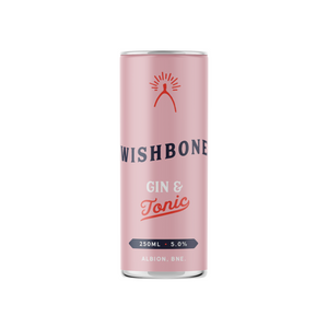 Wishbone Spirits RTD Gin & Tonic Can