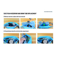 Mazama Designs Sidestream: Hydration Waist-pack (1.3 Liter / 45 ounce) Replacement Reservoir