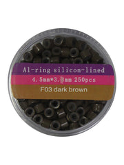 MICROLINKS - 4.5 x 3.3 AL-RING SILICONE LINED