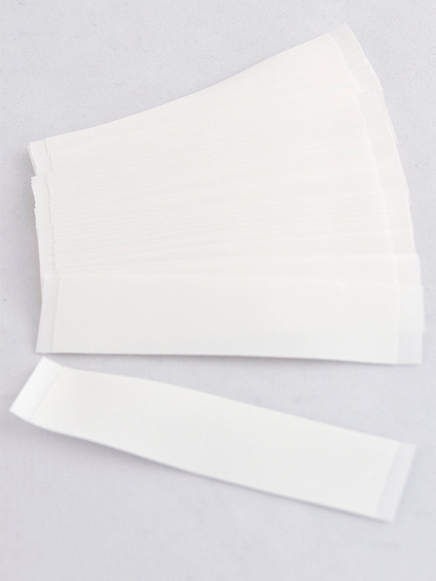 "3M #1522 3/4"" X 3"" STRAIGHT STRIPS CLEAR TAPE (BAG OF 36)"