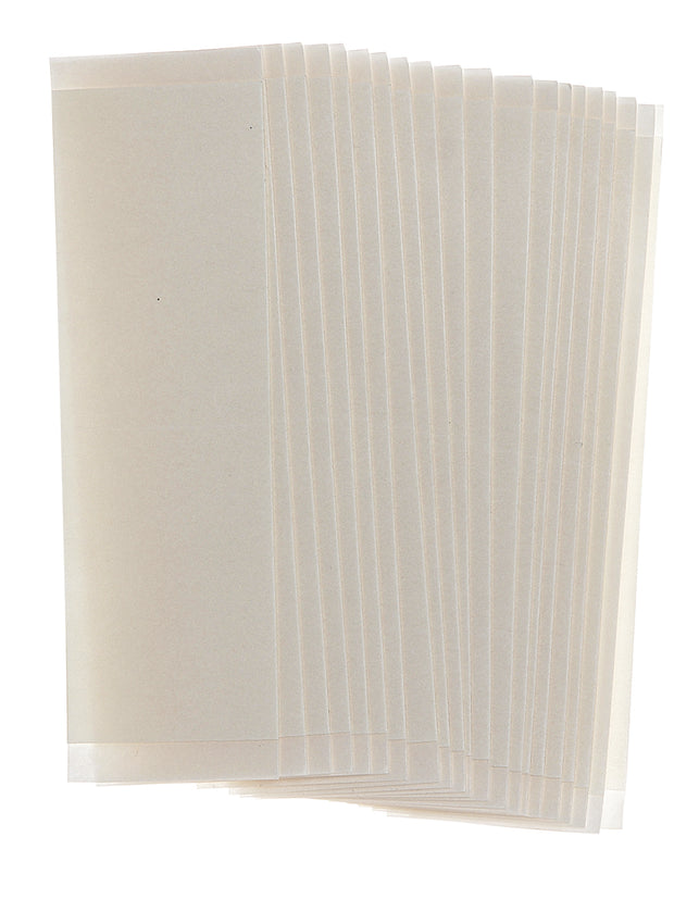 "3M #1522 3/4"" X 3"" STRAIGHT STRIP CLEAR TAPE (BAG OF 1000)"