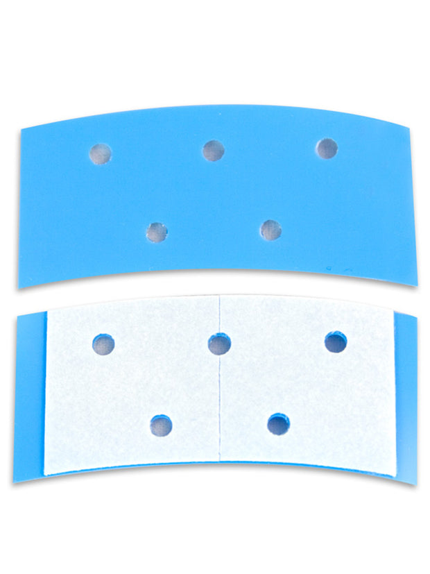 "GEOBOND BLUE 3/4"" X 1-1/2"" CONTOUR STRIPS (BAG OF 40)"