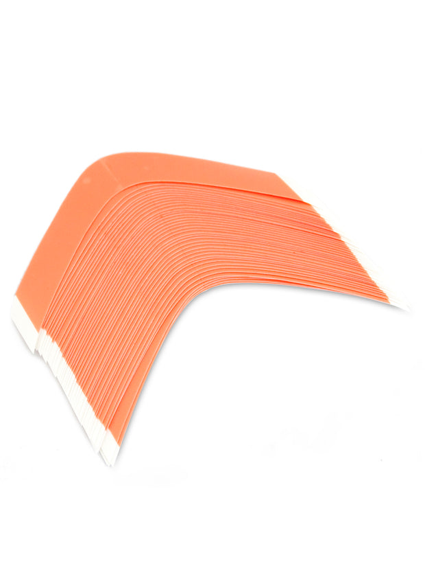 "RED LINER CLEAR 6"" CURVES (BAG OF 24)"