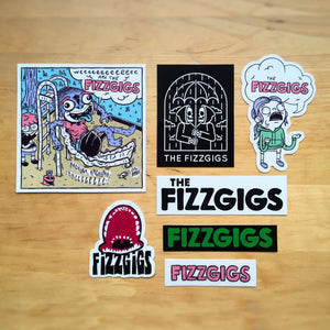 Fizzgigs Sticker Pack Accessories fizzgigs