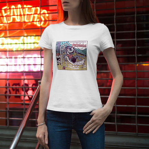 Weeeeeeeeeeeee T-Shirt (Womens' Cut) Apparel fizzgigs