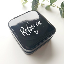Load image into Gallery viewer, Travel Personalised Jewellery Box