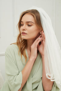 Isabell Sage Green Robe