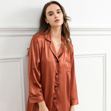 Load image into Gallery viewer, Copper Satin Sleepshirt