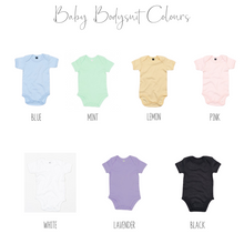Load image into Gallery viewer, Personalised Baby Bodysuit