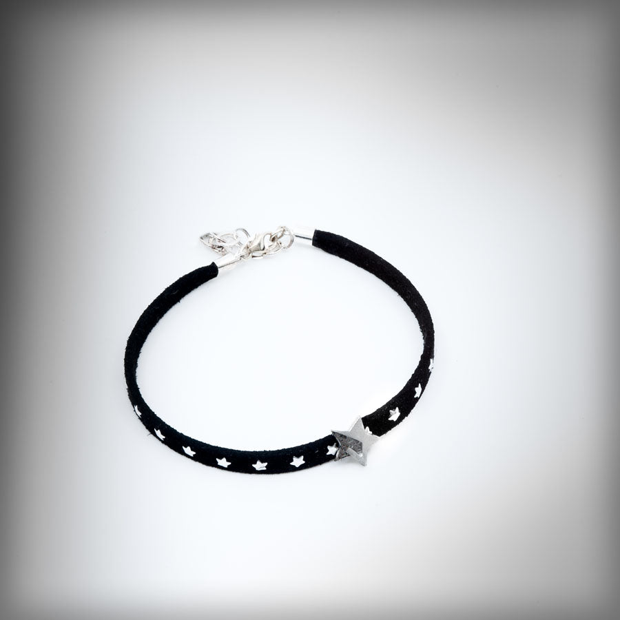 Bracelet with small silver star