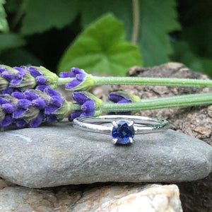 kyanite, white gold, promise Ring, engagement ring, raw finish,