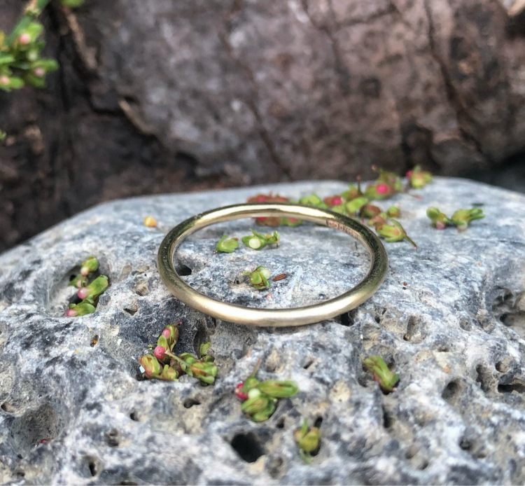 Simple 9ct Gold Stacking Rings