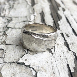 handmade ring, sterling silver ring, one of a kind ring, rustic ring