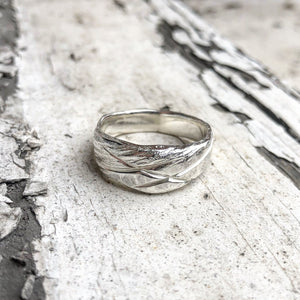 gents ring, wedding ring, silver ring, rustic ring