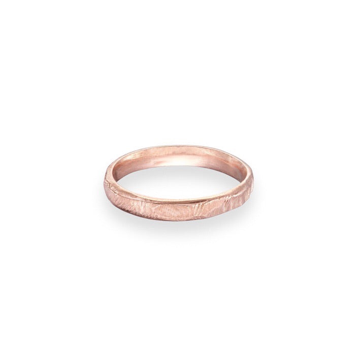 Rose gold Wedding Ring | white gold wedding ring | ladies wedding ring | irish jewellery | Irish goldsmith | rustic wedding ring | handmade wedding ring Ireland | handmade Jewellery Ireland | Yellow Gold Wedding ring | rose gold wedding ring