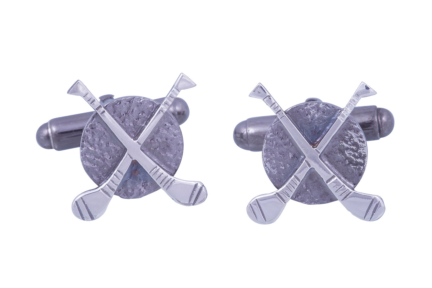Sterling Silver Hurley Cufflinks, Gaa, Irish SPort, Hurling, Irish Hurley