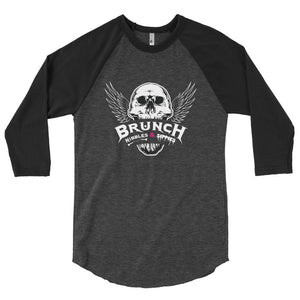 Metal Brunch 3/4 sleeve raglan shirt