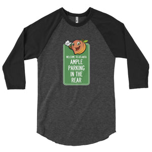 ATL Parking Issues 3/4 sleeve raglan shirt