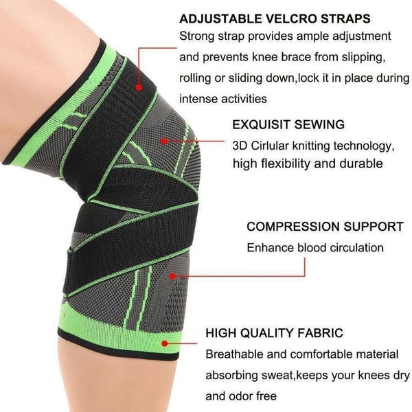 3D Adjustable Knee Support