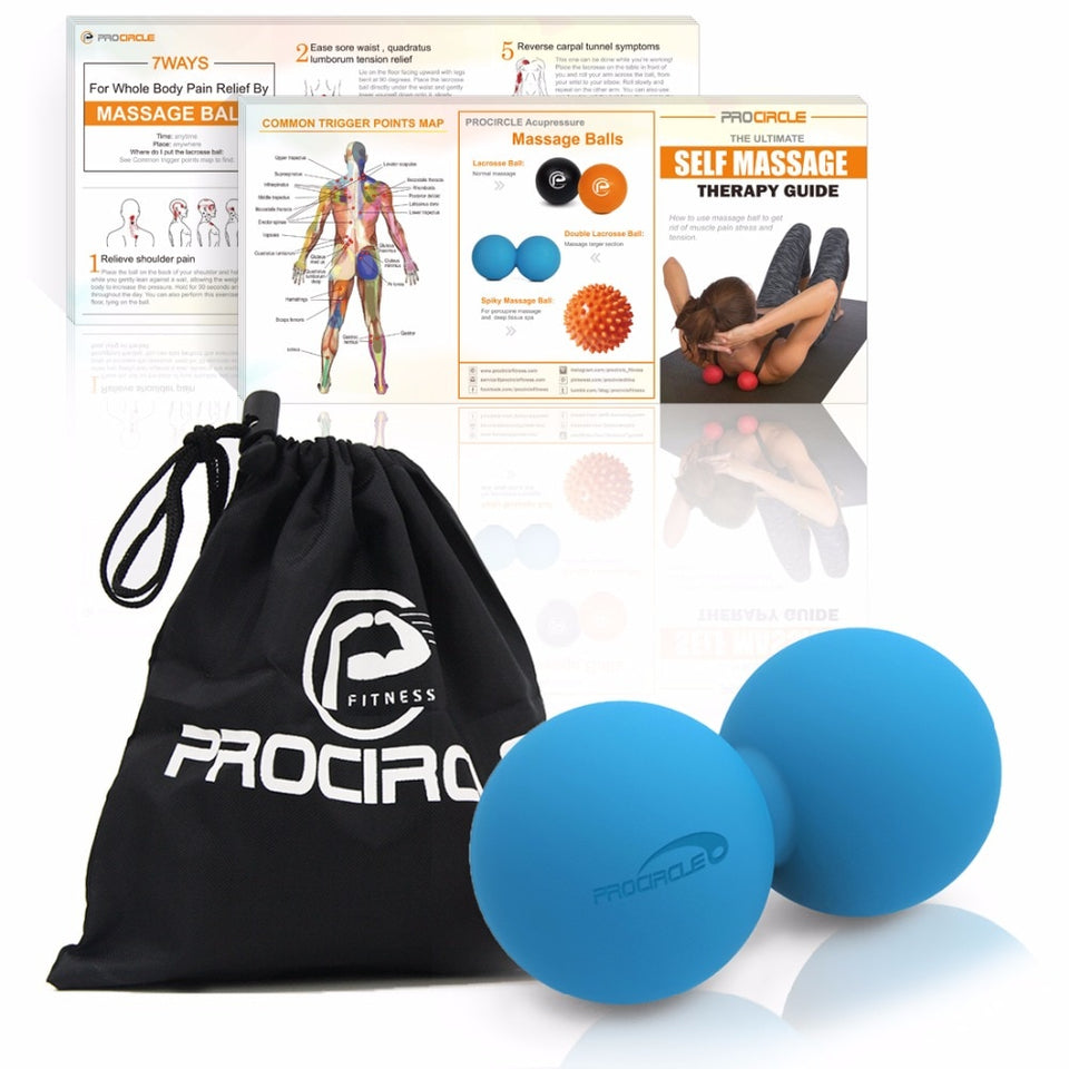 Procircle Peanut Trigger Point Ball