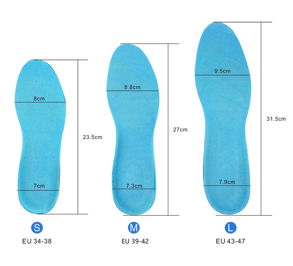 KOTLIKOFF Sports Silicone Gel Insoles