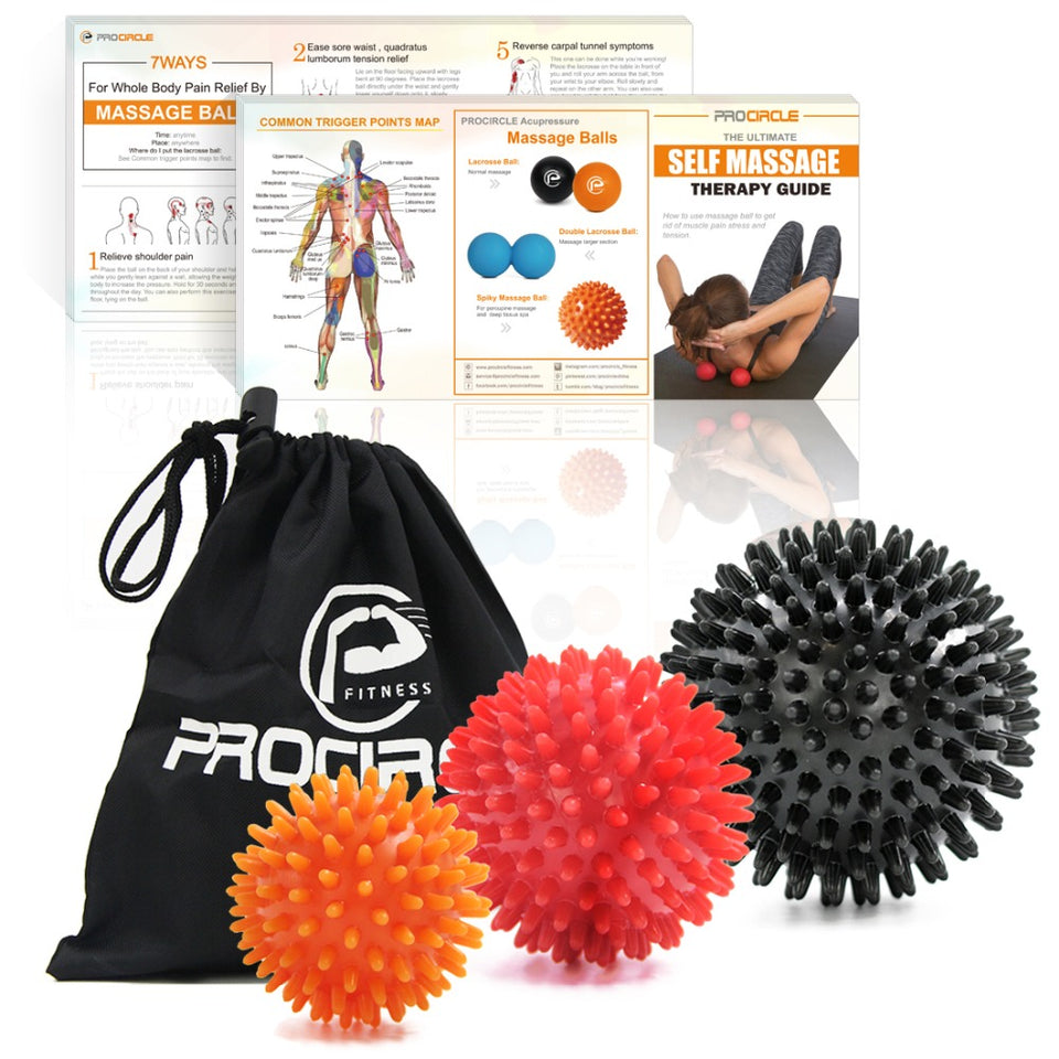Procircle Hedgehog Massage Ball Set