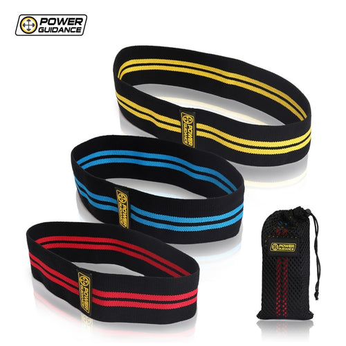 POWER GUIDANCE Hip Resistance Circle Bands Set