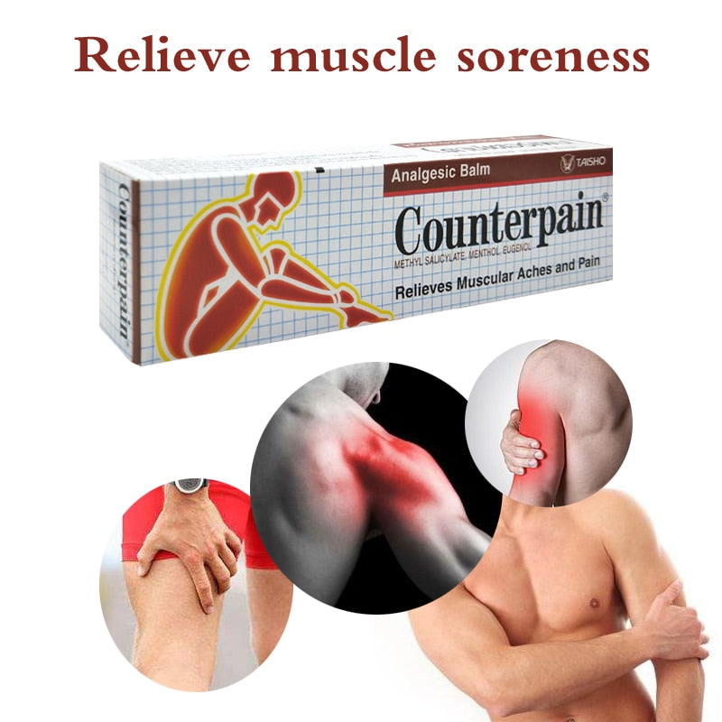 Counterpain Rub Analgesic Balm Ointment