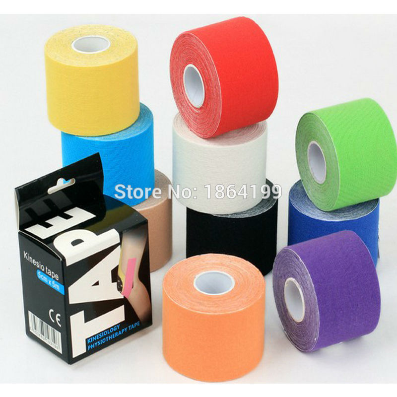 Physiotherapy Tool Kinesiology Tape 5cm x 5m