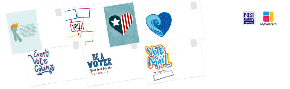 Postcards to Voters by Tony the Democrat