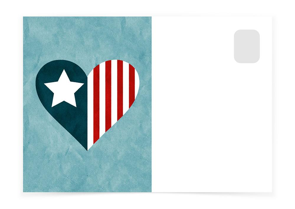 AMERICAN HEART - Postcards to Voters