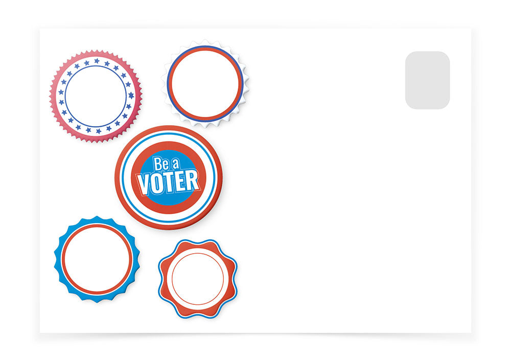 Be a Voter - Sticker