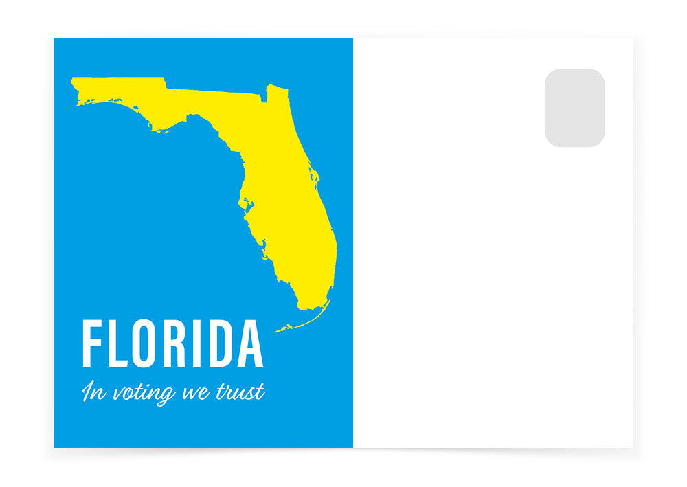 Florida - In Voting We Trust - Postcards to Voters