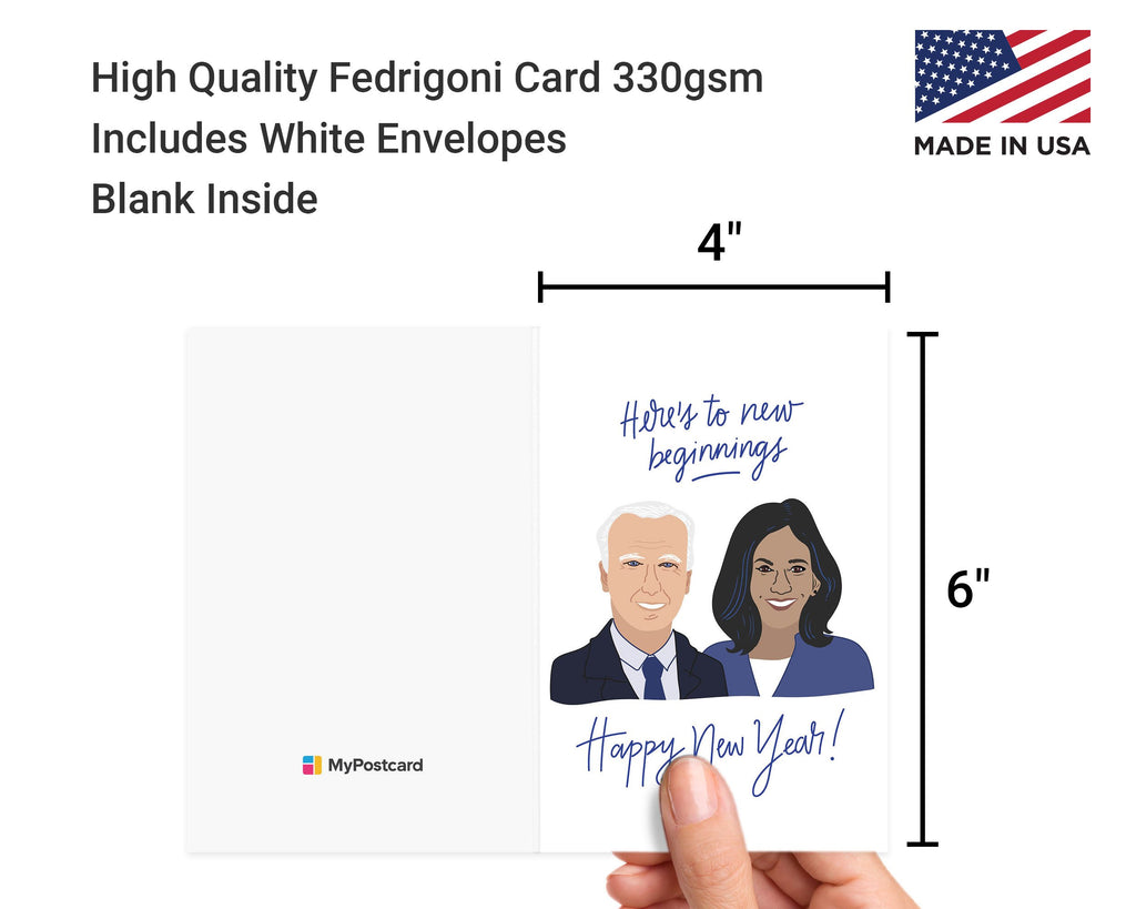 Biden & Harris - New Year Greeting Cards