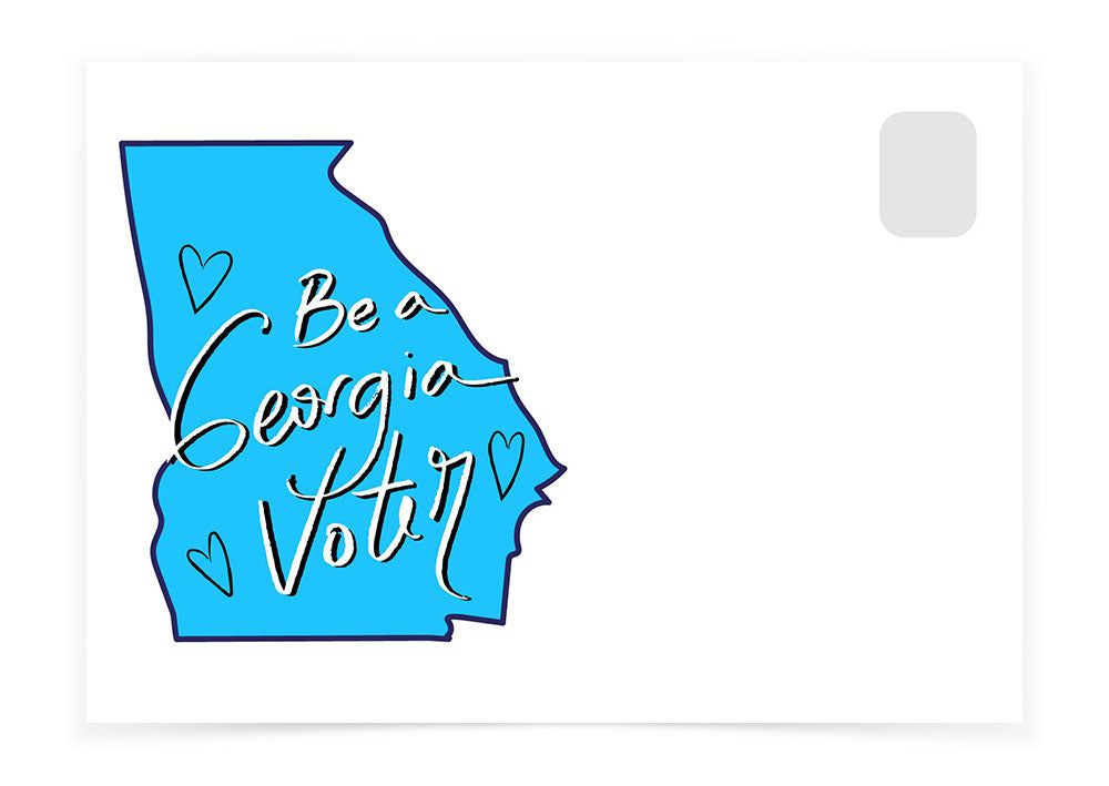 Be A Georgia Voter - Blue