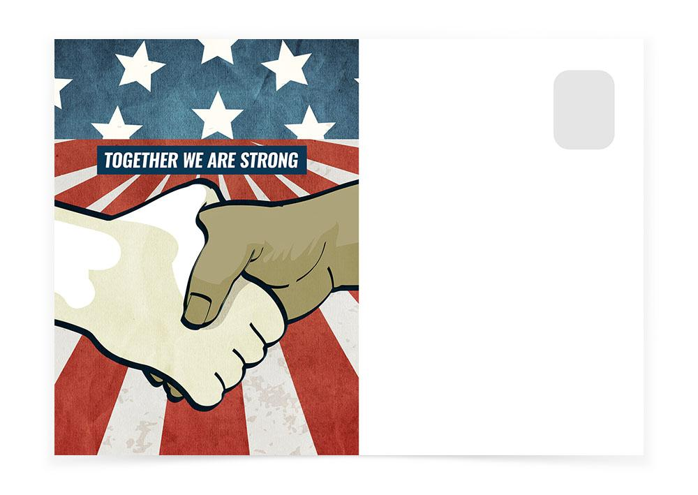 TOGETHER WE ARE STRONG - Postcards to Voters