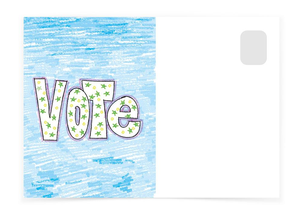 VOTE SKETCH - Postcards to Voters
