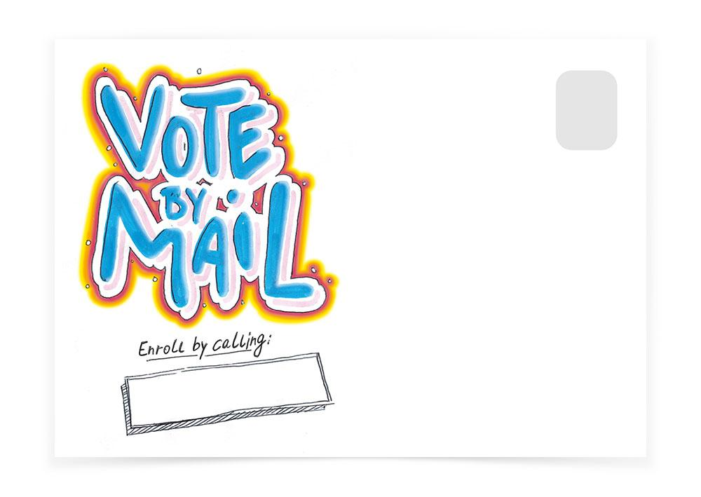 Vote By Mail - Box