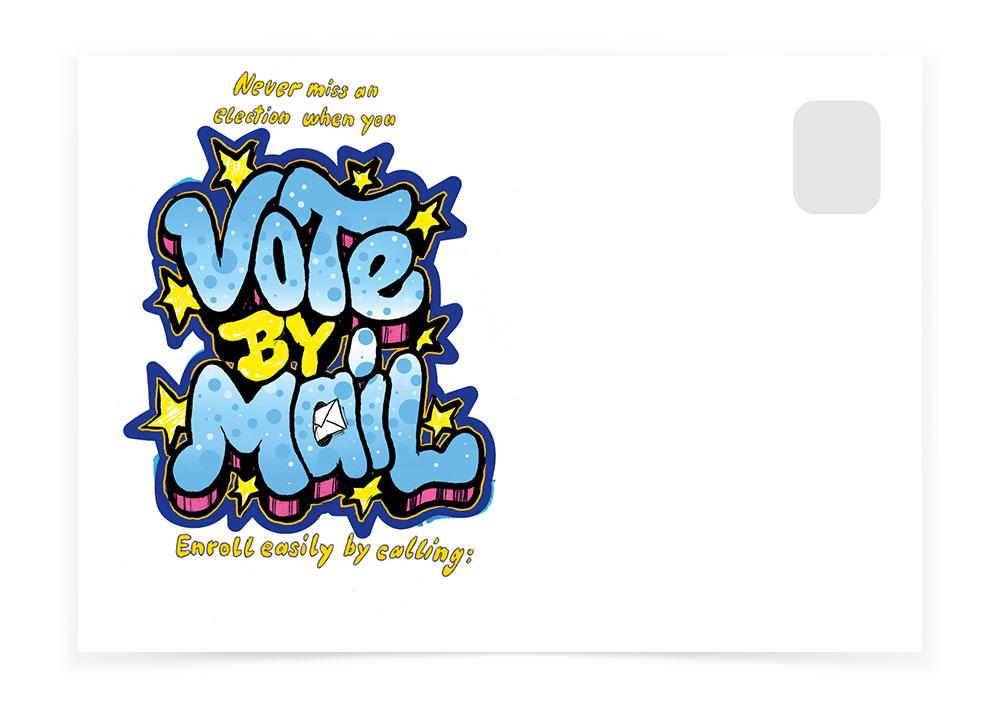 Vote By Mail - Stars