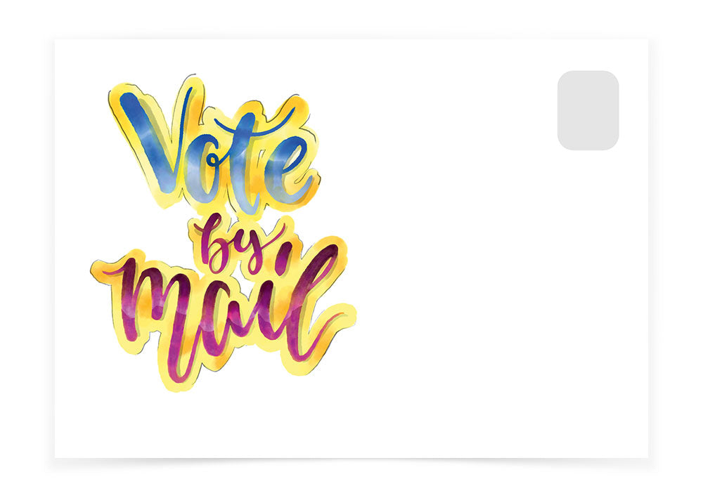 Vote by Mail - Watercolor