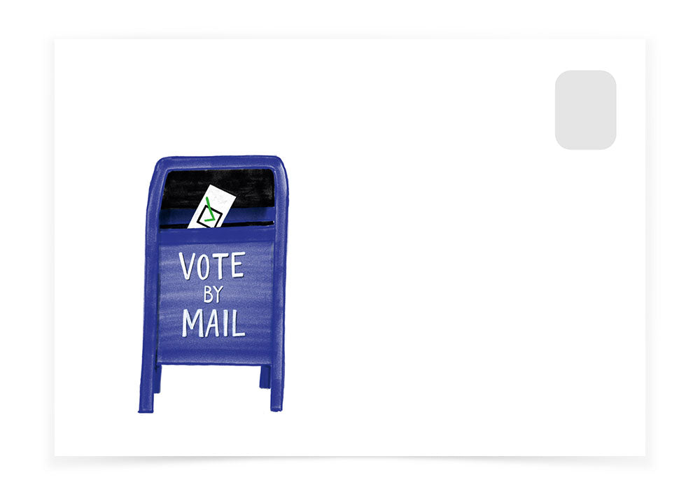 Vote by Mail - Mailbox