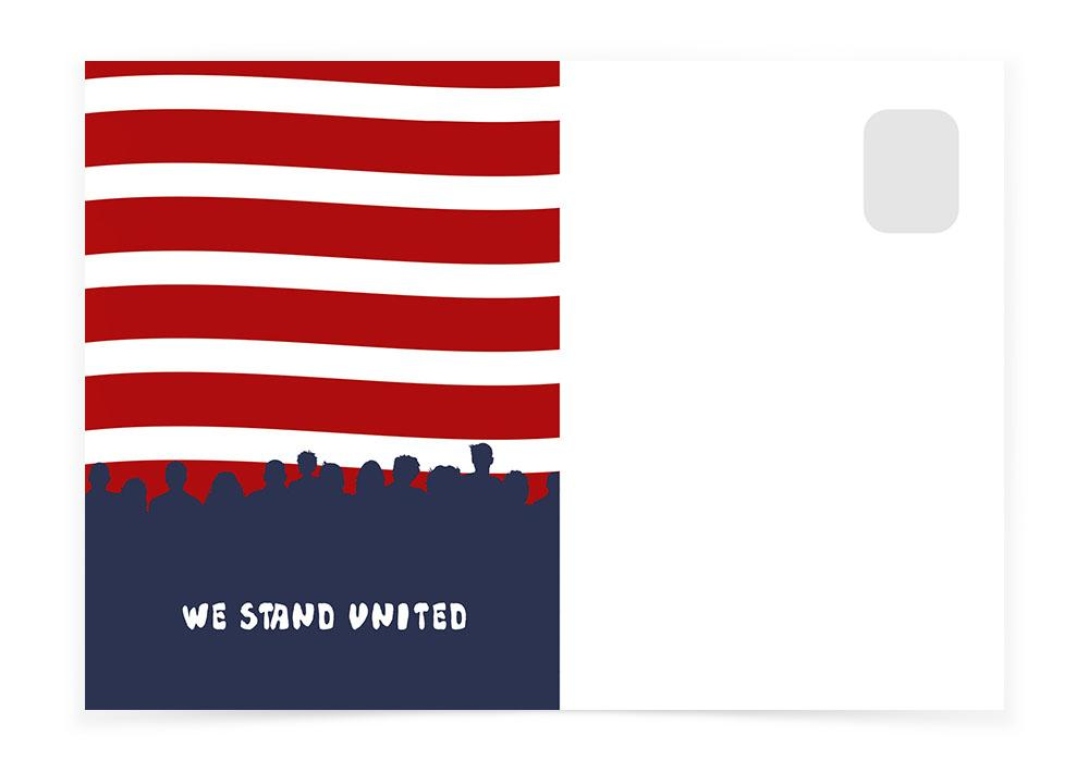 WE STAND UNITED - Postcards to Voters