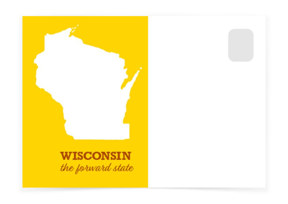 Wisconsin - The Map - Postcards to Voters