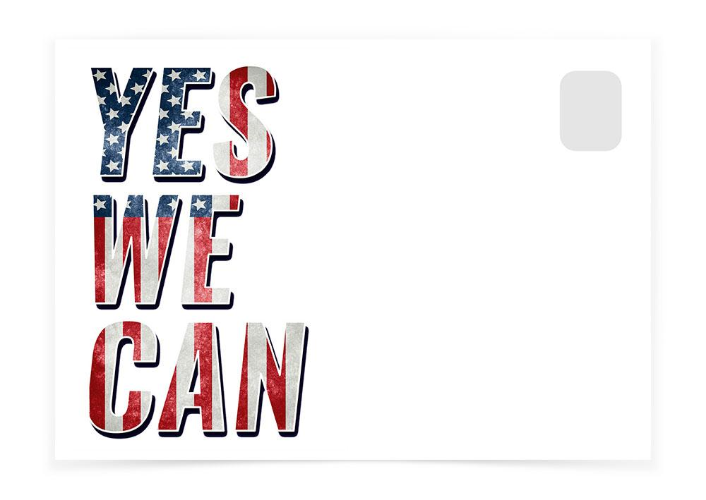 YES WE CAN - Postcards to Voters