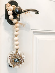 Bird Nest Garland Tag